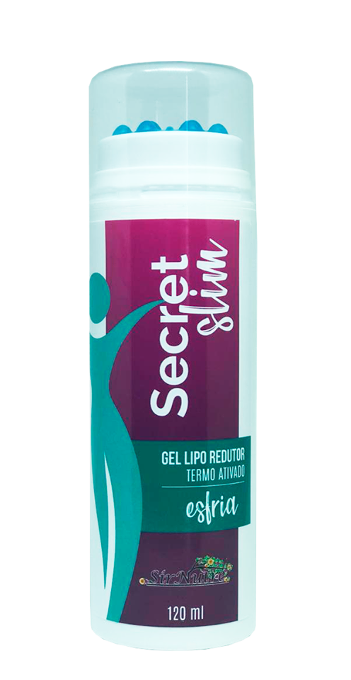 Secret Slim - Gel redutor de gordura localizada