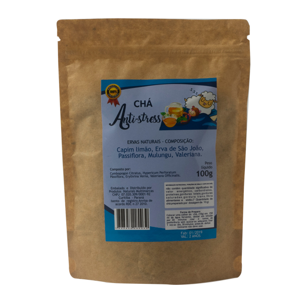 Chá Anti-stress  Composto - Chá  do  Sono 100 g